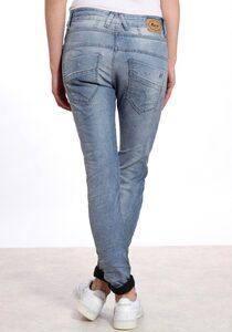 GANG Slim-fit-Jeans »New Georgina« mit halb verdeckter Knopfleiste