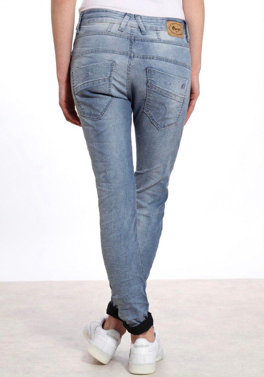 Bild 1 von GANG Slim-fit-Jeans »New Georgina« mit halb verdeckter Knopfleiste