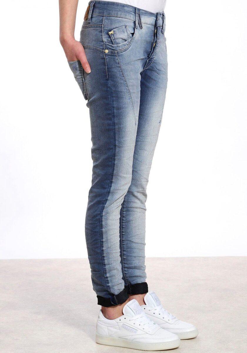 Bild 2 von GANG Slim-fit-Jeans »New Georgina« mit halb verdeckter Knopfleiste