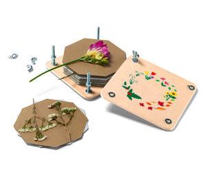 Blumen- und Blätterpresse