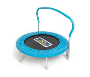 Sportspower-Kinder-und-Fitnesstrampolin mit Haltegriff