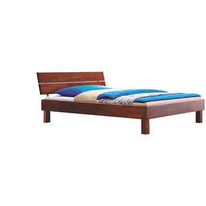 Hasena Bett buche massiv 180/200 cm , Wood-Line , Nussbaumfarben , Holz , 180x200 cm , geölt,Echtholz , Über- und Sondergrößen erhältlich,Über- und Sondergrößen erhältlich,Über- und Sonderg