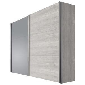 Hom`in Schwebetürenschrank 2-türig eichefarben , Matrix 3   -Hom In- , Holzwerkstoff , 200x216x68 cm , Nachbildung , umfangreiches Zubehör erhältlich, in verschiedenen Größen erhältlich, in ve