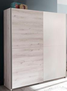 BEGABINO Schwebetürenschrank Cuby, 170 x 196 cm