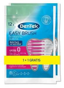 DenTek Easy Brush Interdental-Bürstchen Größe 0
