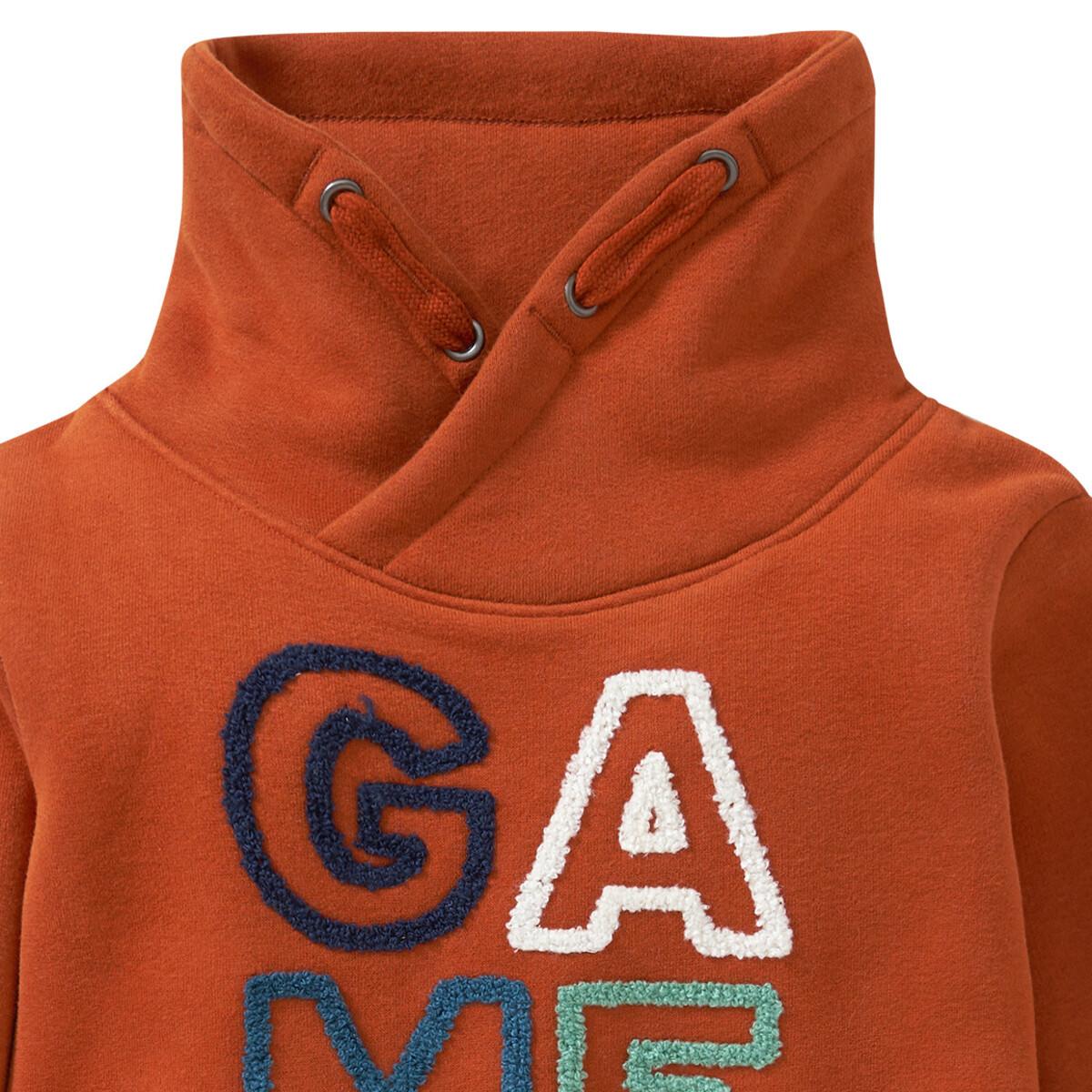 Bild 2 von Jungen Sweatshirt mit Schalkragen