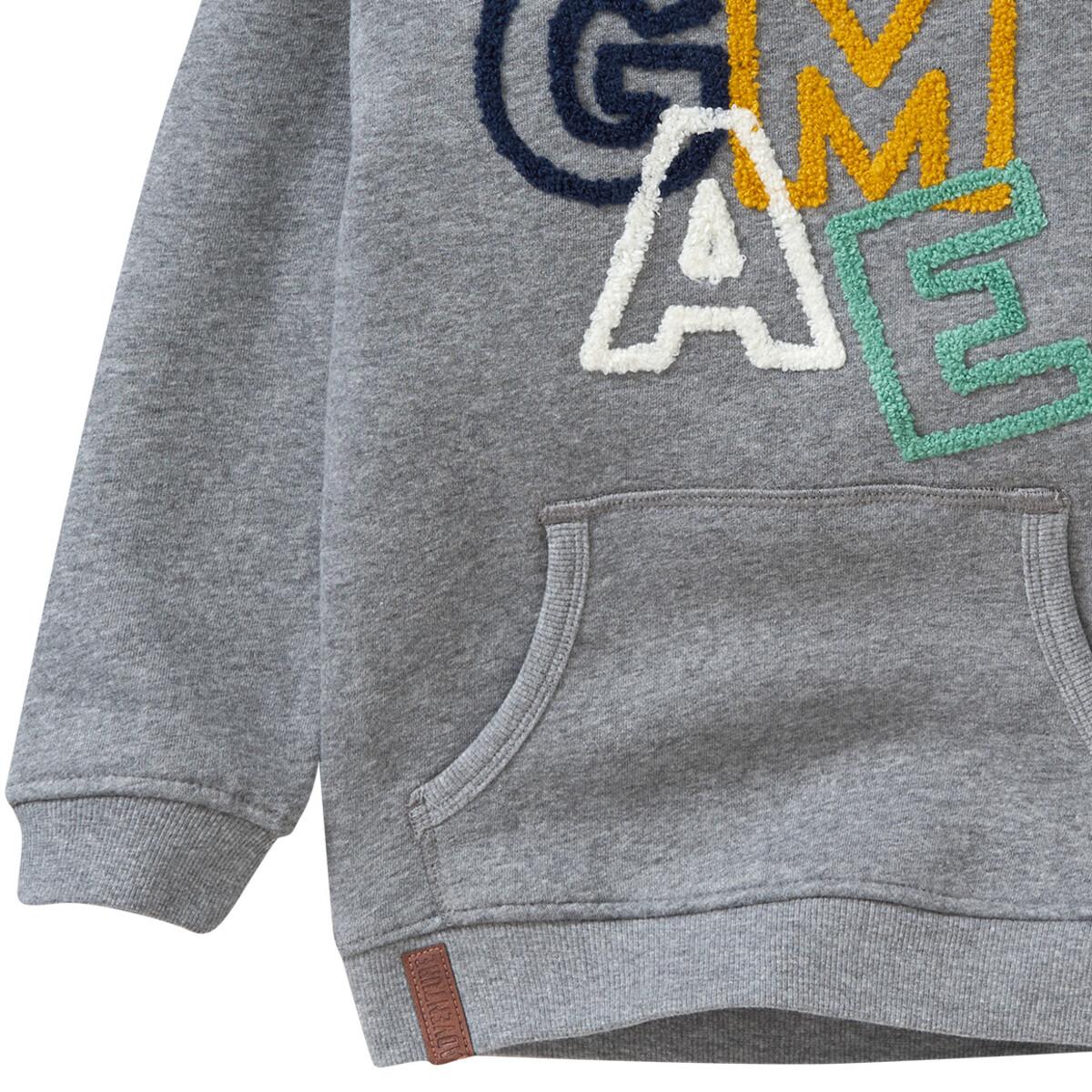 Bild 3 von Jungen Sweatshirt mit Schalkragen