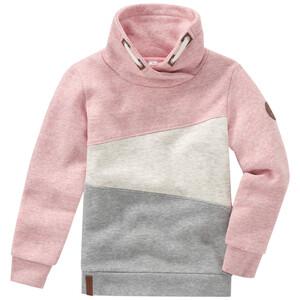 Mädchen Sweatshirt mit Flächenteilern