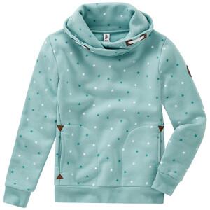 Mädchen Sweatshirt mit Stern-Allover