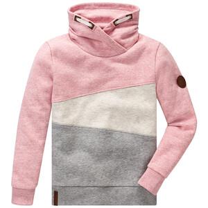 Mädchen Sweatshirt mit Schalkragen