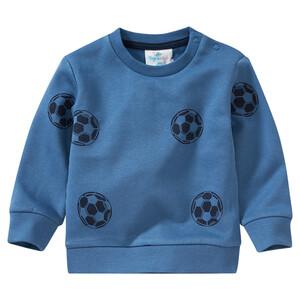 Baby Sweathshirt mit Fußball-Allover