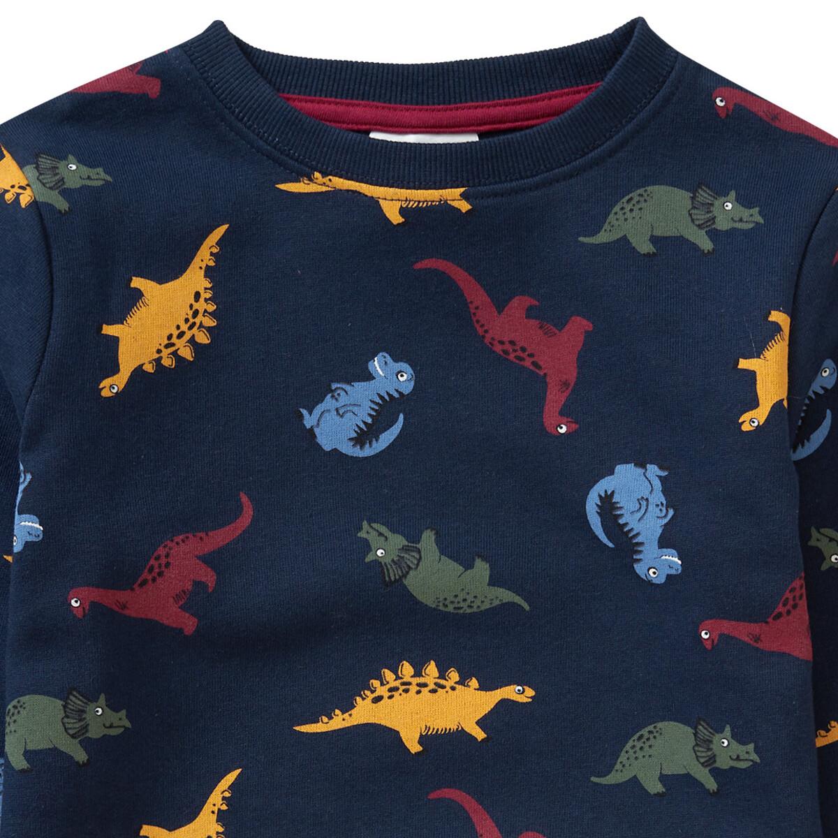 Bild 2 von Jungen Sweatshirt mit Dino-Allover