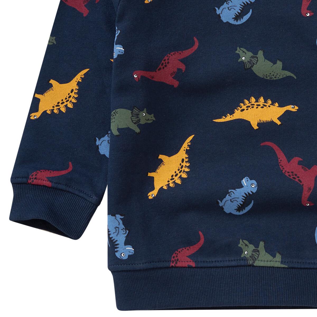 Bild 3 von Jungen Sweatshirt mit Dino-Allover