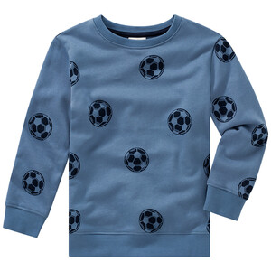 Jungen Sweatshirt mit Fußball-Allover