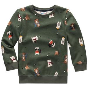 Jungen Sweatshirt mit Allover-Motiv