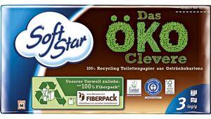 Softstar Toilettenpapier – Das ÖKO-Clevere