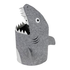 Aufbewahrungstonne Hai aus Filz