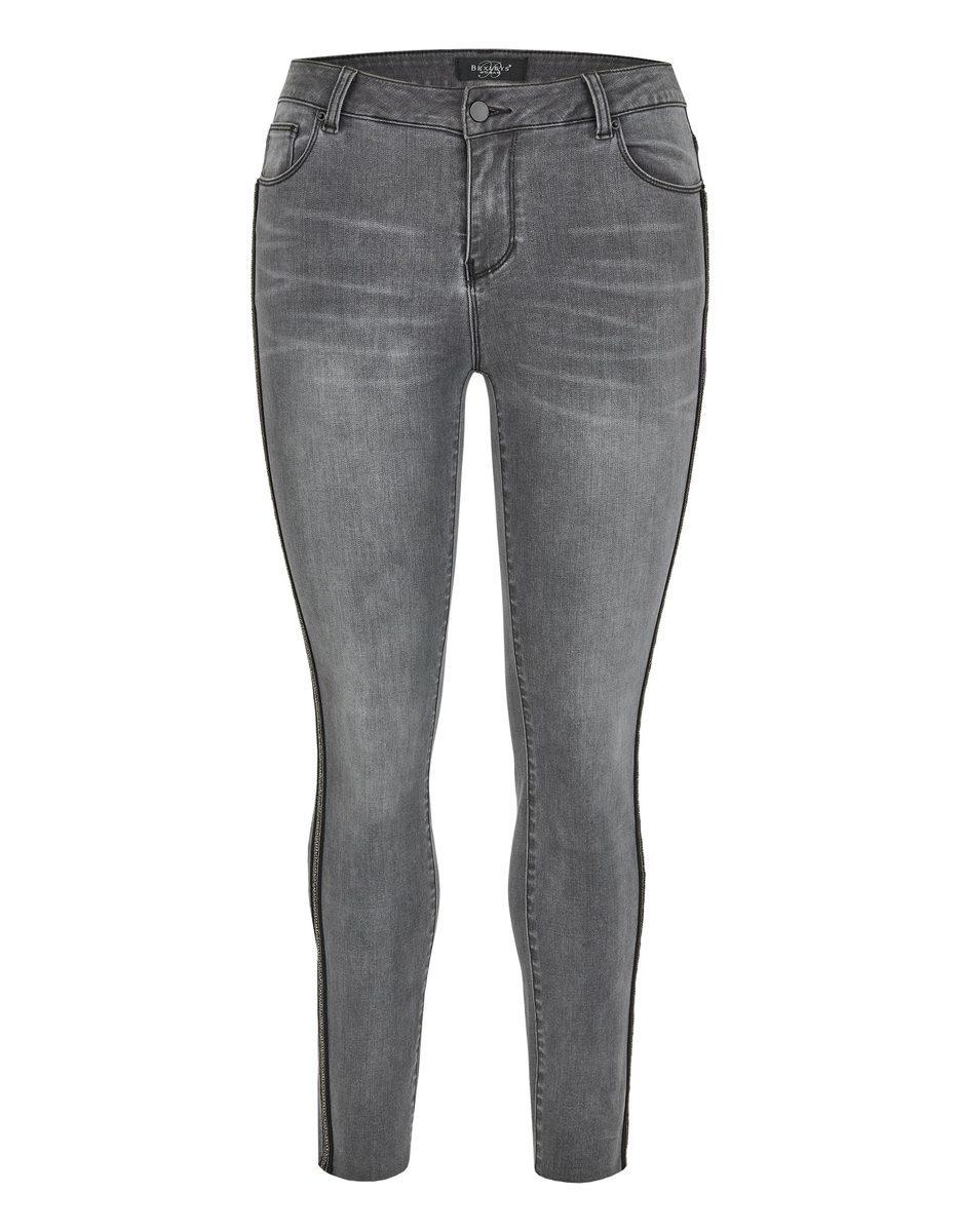 Bild 1 von Bexleys woman - Jeans mit Galonstreifen in Normal- und Kurzgrößen