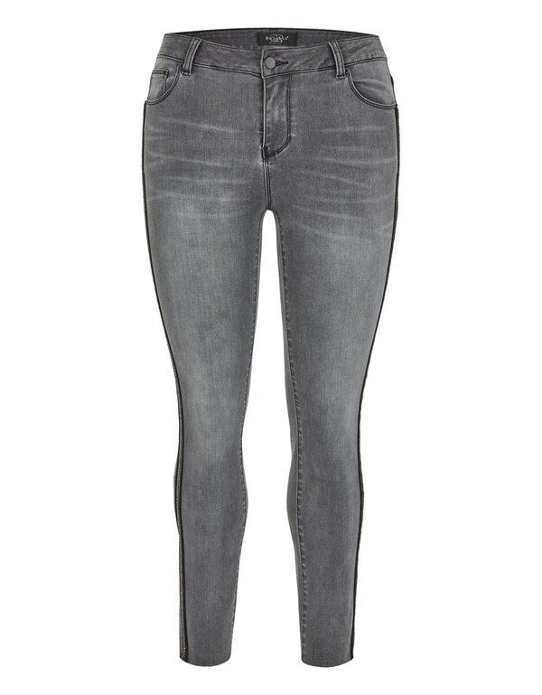 Bexleys woman - Jeans mit Galonstreifen in Normal- und Kurzgrößen