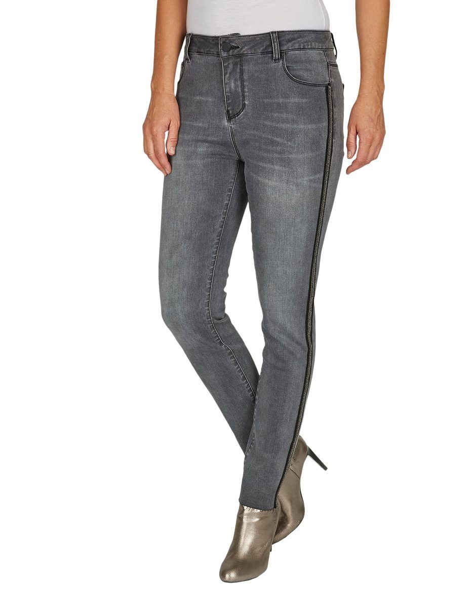 Bild 2 von Bexleys woman - Jeans mit Galonstreifen in Normal- und Kurzgrößen
