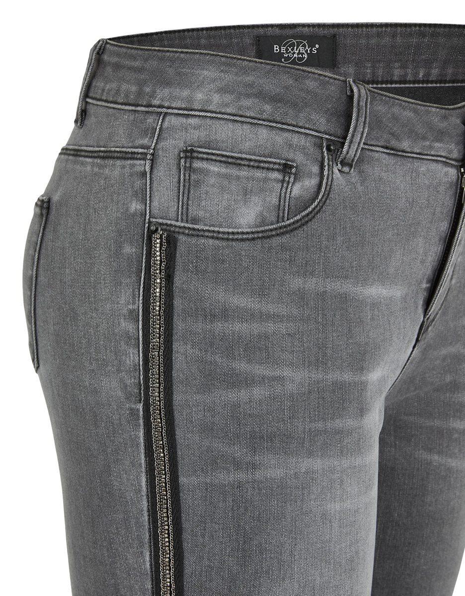Bild 4 von Bexleys woman - Jeans mit Galonstreifen in Normal- und Kurzgrößen