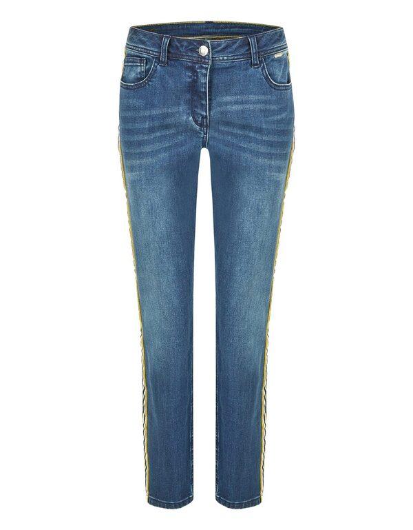 Steilmann - Jeans mit Galonstreifen
