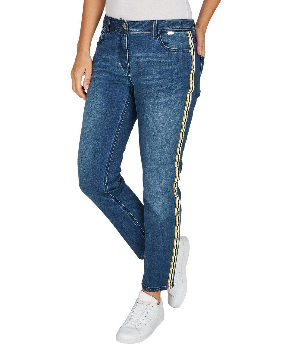 Bild 2 von Steilmann - Jeans mit Galonstreifen