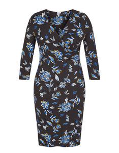Viventy - Jersey-Wickelkleid mit Blumenmuster