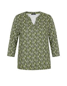 Bexleys woman - Gemustertes Shirt mit 7/8-Arm