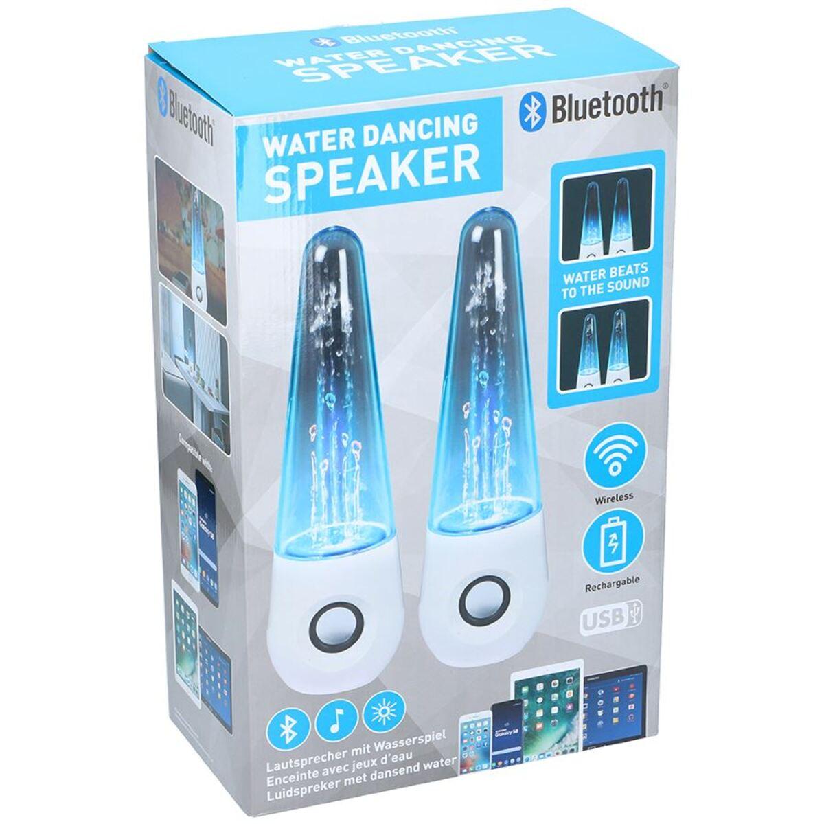 Bild 3 von LED-Lautsprecher DP-989D mit Wasserfontäne 2er-Set