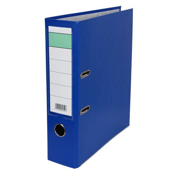 Ordner A4 mit Rückenschildtasche Blau