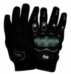 SQ Protector Motorradhandschuh, schwarz, Gr. M