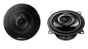 Pioneer 3-Weg Koaxiallautsprecher TS-G1033i, Nennbelastbarkeit 30 Watt, maximal 210 Watt, 100 mm Durchmesser, 2 Stück
