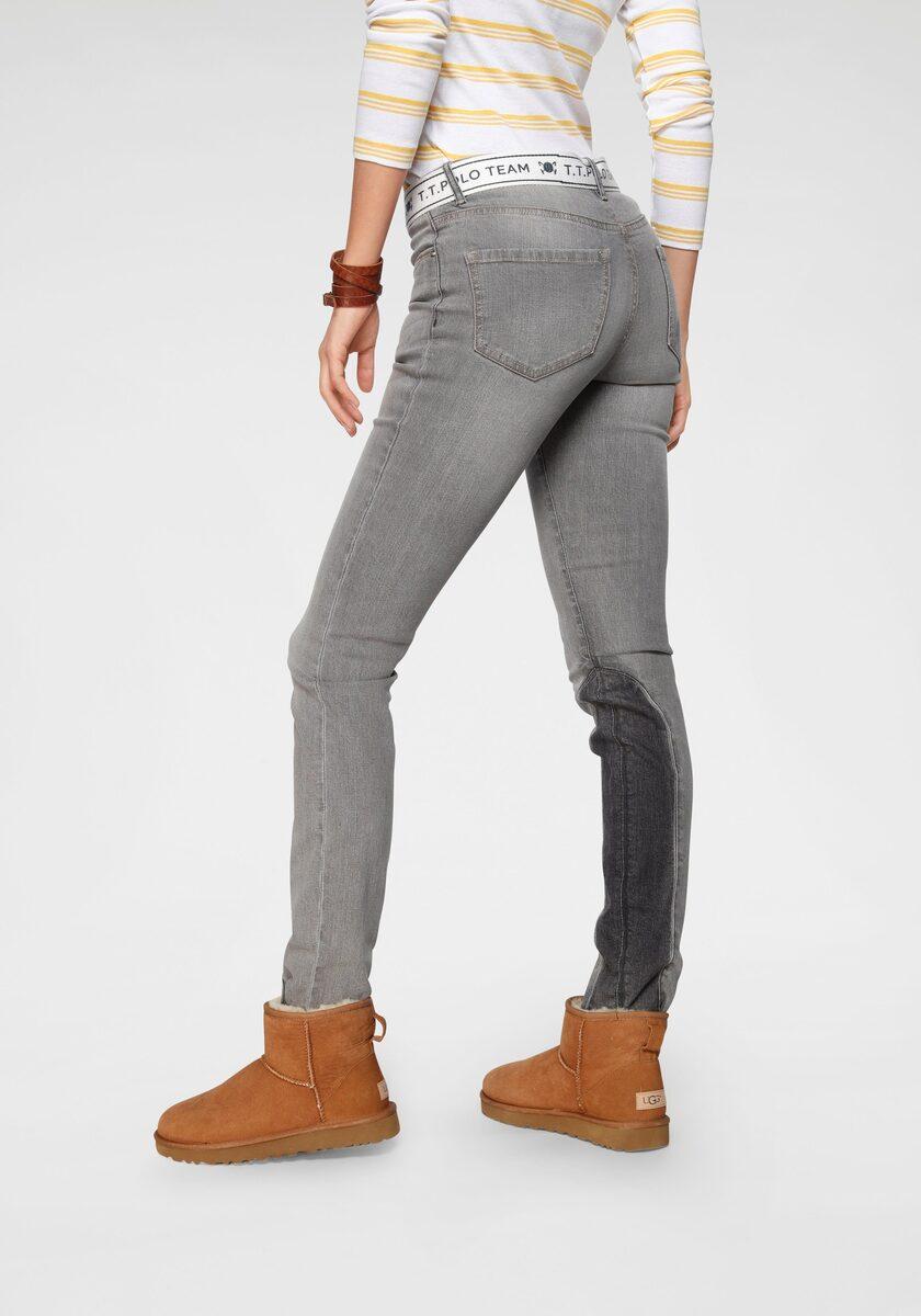 Bild 1 von TOM TAILOR Polo Team Slim-fit-Jeans (Set, 2-tlg., mit abnehmbarem Gürtel) mit sportivem Logo-Gürtel