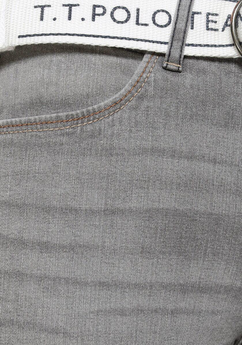 Bild 3 von TOM TAILOR Polo Team Slim-fit-Jeans (Set, 2-tlg., mit abnehmbarem Gürtel) mit sportivem Logo-Gürtel