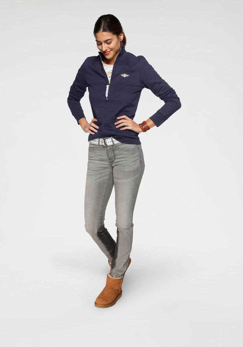 Bild 4 von TOM TAILOR Polo Team Slim-fit-Jeans (Set, 2-tlg., mit abnehmbarem Gürtel) mit sportivem Logo-Gürtel