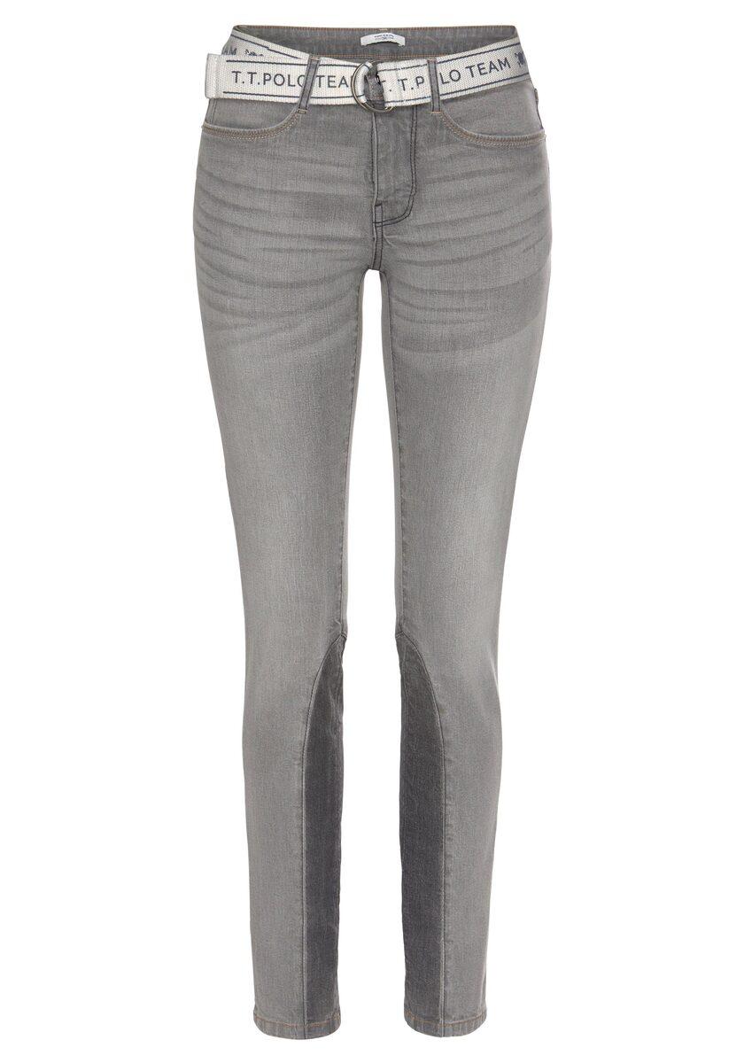 Bild 5 von TOM TAILOR Polo Team Slim-fit-Jeans (Set, 2-tlg., mit abnehmbarem Gürtel) mit sportivem Logo-Gürtel