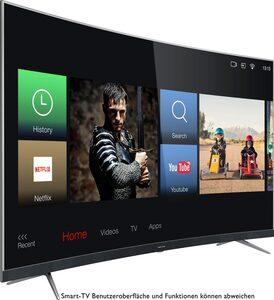 Thomson 55UD6696 Curved-LED-Fernseher (139 cm/55 Zoll, 4K Ultra HD, Smart-TV)