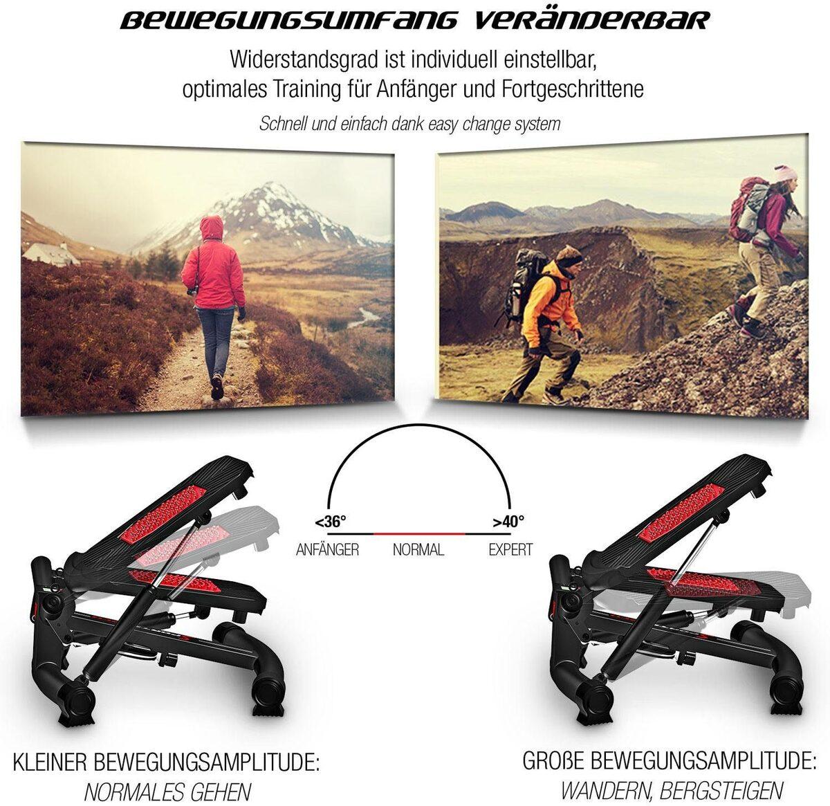 Bild 3 von Sportstech Mini-Stepper »STX300«