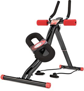 Sportstech Bauchtrainer »BT300«, Bauchtrainer mit schwenkbarer Knieauflage, übersichtliches Info-Display