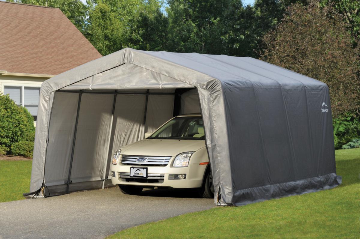 Bild 4 von Shelter Logic Weidezelt Garage 18 m²