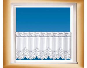 Scheibengardine weiß ca. 50 x 150 cm