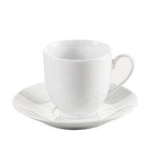 Provida Porzellan Tasse in Weiß 200 ml