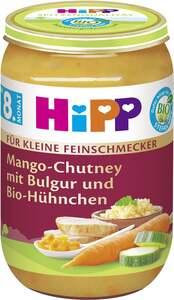HiPP Bio Mango-Chutney mit Bulgur und Bio-Hühnchen, ab 8. Monat