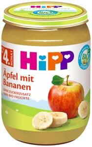 HiPP Bio Äpfel mit Bananen