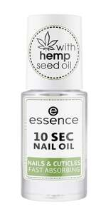 essence 10 SEC Nail Oil Nails & Cuticles Fast Absorbing