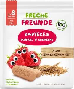erdbär Bio Freche Freunde Babykeks Dinkel & Erdbeere