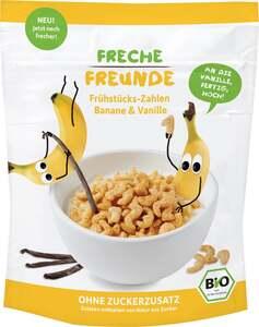 erdbär Freche Freunde Bio Frühstücks-Zahlen Banane & Vanille