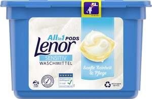 Lenor All-in-1 Pods Vollwaschmittel Sensitiv 15 WL
