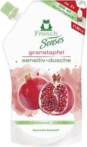 Frosch Senses Granatapfel Sensitiv-Dusche Nachfüllbeutel